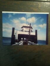 M.V. KLICKTAT 5X 7 PRINTS WASHINGTON STATE FERRIES  LOFALL/SOUTHPOINT FERRY DOCK