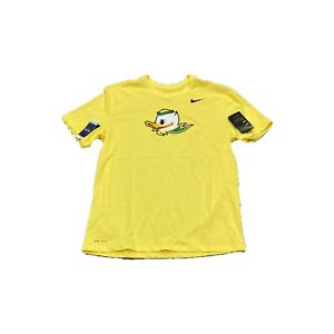 NWT NEW Oregon Ducks Nike Men's Puddles Logo Dri Fit Cotton Shirt XXL 2XL