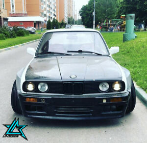 Full Widebody kit for BMW E30 by LA-Design.