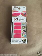 Kiss Nail Gel Dress Gel Polish Solution Gel Strips # 60467 FAIRY DUST