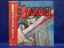 "Saxon Selftitled ""Vinyl NM"" Japan LP Obi P-10889G"