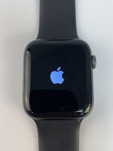 Apple Watch Series 4 44mm (GPS + Cellular) Space Gray Aluminum Black Sport Loop