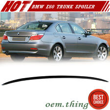 Painted BMW 5-Series E60 Saloon M3 Look Trunk Boot Lip Spoiler 2010 M5