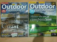 Outdoor Photography magazine July 2008 & June 2008 Issues set of 2 used