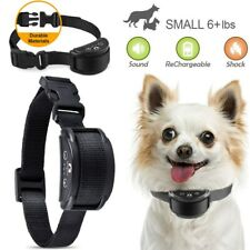 Anti Barking E-Collar No Bark Dog Training Shock Collar for Small Medium Dog US