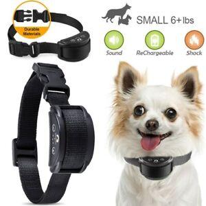Anti Barking E-Collar No Bark Dog Training Shock Collar for Small Medium Dog US