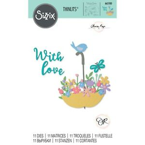 Sizzix Thinlits - Chapter 2 Floral Die Collection