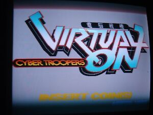 Virtual On Cyber Troopers ORIGINAL ROM KIT for Sega ARCADE non JAMMA Model2B PCB