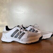 Adidas Tech Response Men's Golf Shoes Spikes White Gray Black F33552 Size 9