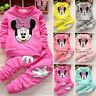 Ensembles de vêtements enfants bébé filles Minnie Mouse Sweatshirt pantalon haut