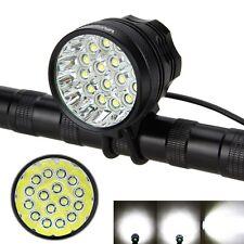 New 60000LM 16x XML T6 LED Bicycle Bike Headlight Light 12000mAh(6x18650) Set+HB