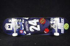 Complete Skateboard Sk8mafia Titanium Trucks Element Santa Cruz Spitfire Indy