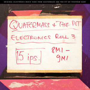 """Quatermass and the Pit Electronic Cues 10"""" vinyl - Tristram Cary"""