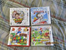 Super Mario 3D Land & Mario Tennis snoopy yokai for 3DS