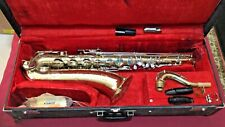VINTAGE THE MARTIN IMPERIAL TENOR SAXOPHONE ....311255 serial number