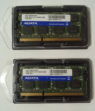 ADATA : Kit of 2 SO-DIMM DDR3 PC10600 (2x2Go) 2RX8 PC3-10600S-999 AD73I1B1674EG