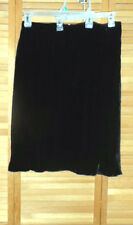 NEW WITH TAGS-WOMANS CITY DKNY SILK BLEND SKIRT-BLACK-SIZE 14