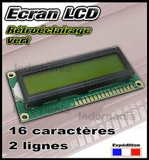 5129# écran LCD 1602 rétroéclairage vert pour projet  arduino Raspberry...