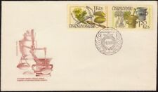 CZECHOSLOVAKIA 1971 Int.Pharmaceutical Cong.2v only PART FDC unaddressed @D8690