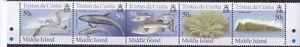 TRISTAN DA CUNHA 2006 ISLANDS (5TH ISSUE) Strip Sc-888-92 MNH - US-Seller