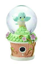 Precious Moments Bird Mini Snow Globe Bluebird Birdhouse Water Globe 154445