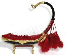 BURMESE GOLDEN HARP MYANMAR HANDICRAFTS GIFTS/SOUVENIRS MUSIC STRING INSTRUMENT