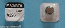2 x VARTA Uhrenbatterie V396 SR726W 27mAh 1,55V SR59 Knopfzelle AG2