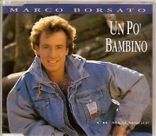 MARCO BORSATO - un po bambino CD MAXI 3TR 1991 RARE!!!