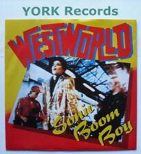 "WESTWORLD - Sonic Boom Boy - Excellent Condition 7"" Single RCA BOOM 1"
