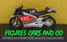 1/24 MOTO GP  SERIE 1 N° 54 APRILIA RSW 125 2002 ARNAUD VINCENT #21