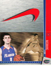 2006-07 UNIVERSITY OF FLORIDA GATORS MEN'S BASKETBALL POCKET SCHEDULE - UNFOLDED