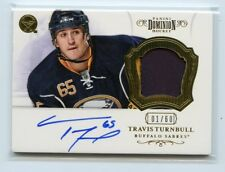 12/13 PANINI DOMINION ROOKIE PATCH AUTOGRAPH AUTO TRAVIS TURNBULL 01/60 *45934