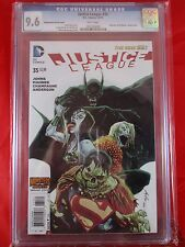 "DC Comics justice League #35 CGC 9.6 ""Monster of The Month"" Variant Cover 12/14"