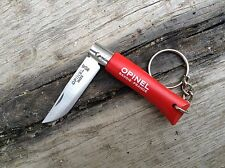 "Outdoor folding knives Opinel №4 Keyring ""Origins'' Red"