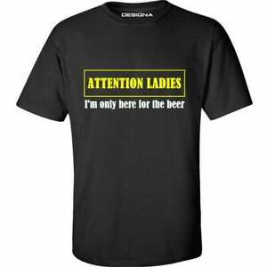 Darts T Shirt Attention Ladies Im Only Here For The Beer Sizes Sm-5xl