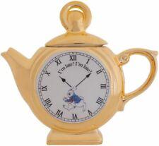 Alice in Wonderland 295ml Teapot - White Rabbit Pocket Watch