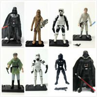 "3.75"" Star Wars Epic Battles SCOUT TROOPER STORMTROOPER CHEWBACCA hasbro figure"