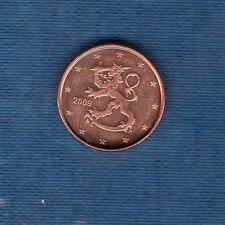 Finlande - 2009 - 1 centimes d'euro - Pièce neuve de rouleau -