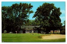 1960s/70s Club House and 9th Green, Talbot Country Club near Oxford, MD Postcard