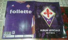 Album perfetto ACF Fiorentina collection 2017-18 esselunga-Completo 180 figurine