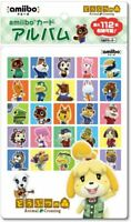 Animal Crossing amiibo Card Album 112 cards can be stored Made in Japan