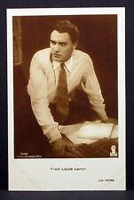 Fred Louis Lerch - Actor Movie Photo - Foto Autogramm-Karte AK (Lot-Z-1949)