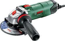 Bosch Winkelschleifer PWS 850-125, Anti-Vibrationshandgriff, Schutzhaube, Koffer