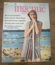 Teen Agers Ingenue - July 1963 - Beauty Magazine for Sophisticated Teens
