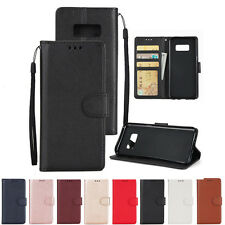 Leather Wallet Flip Card Stand Case Cover For Samsung Galaxy Note 8/S7/S8+ Plus