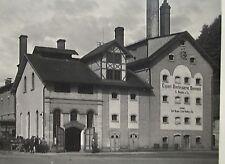 FO - AK, Bier -Brauerei Neuper,Berneck b.Bayreuth, Häuser,Pferdefuhrwerke,um1920