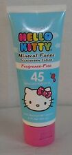 Hello Kitty Australian Gold Sunscreen Face Lotion SPF 45 - Lot of 3 MADE IN USA