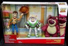 Disney Pixar Toy Story Sunnyside Daycare Gift Set WOODY BUZZ LIGHTYEAR & LOTSO