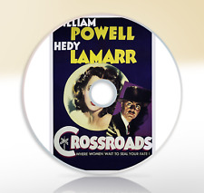 Crossroads (1942) DVD Classic Mystery Movie Film Noir William Powell Hedy Lamarr