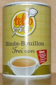 (1,55 Euro / pro 100 g ) tellofix Rinds Bouillon frei von 242 g